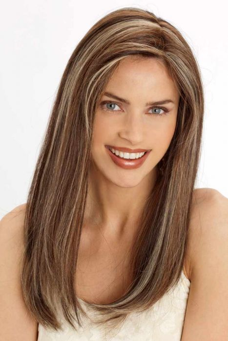 PLF005HM by Louis Ferre Wigs - Human Hair, Monofilament, Hand Tied, Lace Front Wig