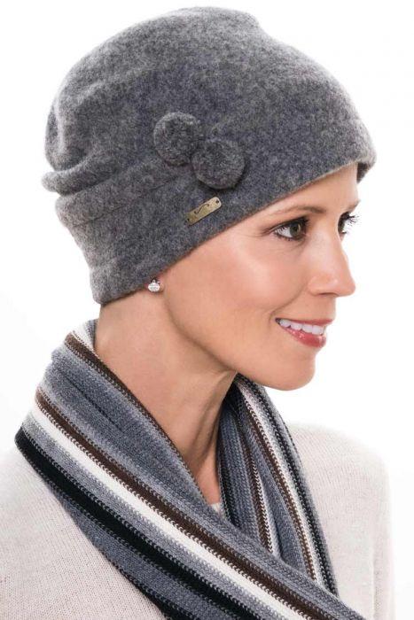 Wool Jaymi Cloche Hat | Pull On Beanie Cap