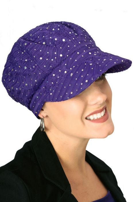 FACTORY SECONDS: Sparkle Newsboy Hat