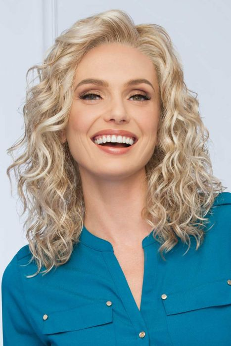 Radiant Beauty by Eva Gabor Wigs - Monofilament Part, Lace Front Wig