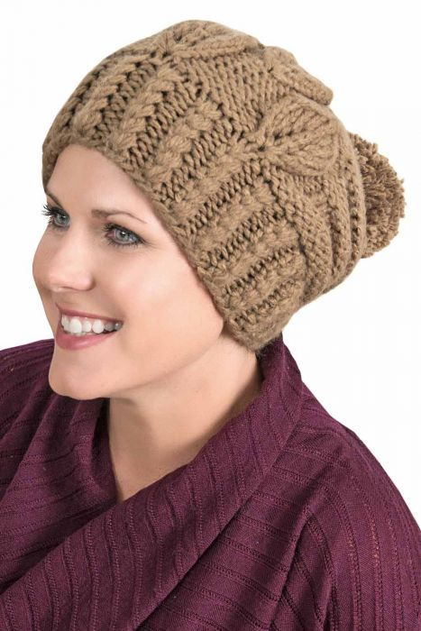 Reagan Beanie Cap | Knitted Winter Hats for Women