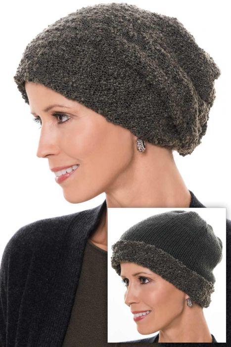 Reversible Tessa Slouchy Beanie Hat | Slouch Beanies & Caps