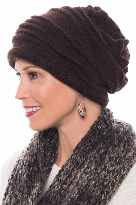 Women's Ribbed Kara Slouchy Beanie | Fall & Winter Hat