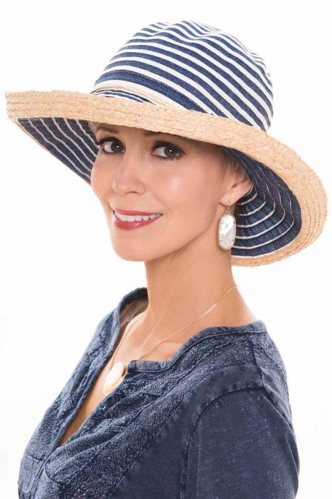 Rivka Crushable Ribbon Braid Sun Hat