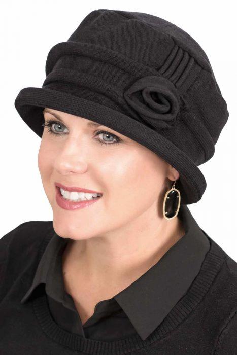 100% Cotton Rose Cloche Hat for Women