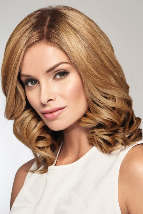 """On The Go 10"""" Topper by Raquel Welch Wigs - Heat Friendly Synthetic, Monofilament Topper"""
