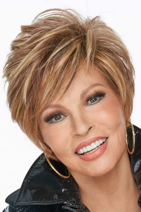 On your Game by Raquel Welch Wigs - Heat Friendly Synthetic, Lace Front, Partial Monofilament Wigs