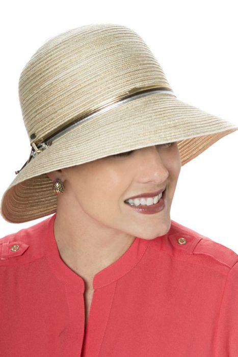 Samantha Shimmer Sun Hat