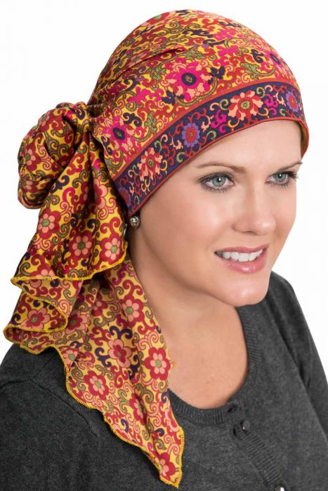 Satin Jessica Easy Tie Scarf | Head Scarves for Women