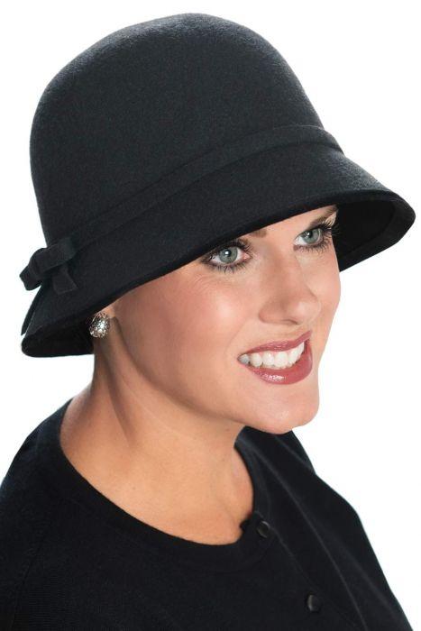 Wool Selene Cloche Hat
