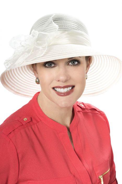 Sheer Margaret Flower Hat