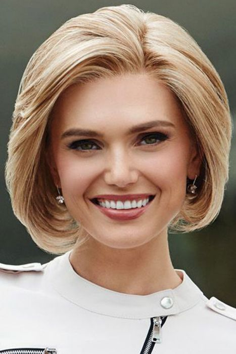 Sheer Style by Eva Gabor Wigs - Lace Front, Monofilament Part Wig