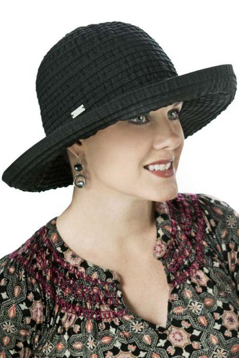 Sherry Ribbon Braid Sun Hat for Women