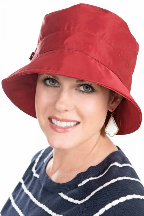 Shimmer Rain Hat - Packable Weather Bucket Hats for Women