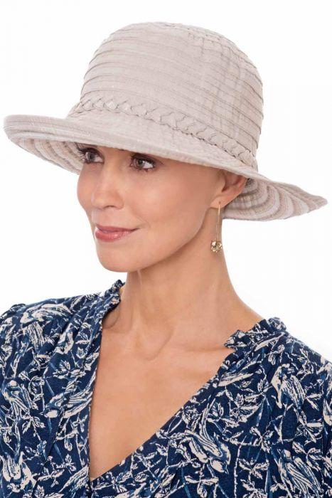 Shimmer Stripe Sun Hat | Sun Hats for Women