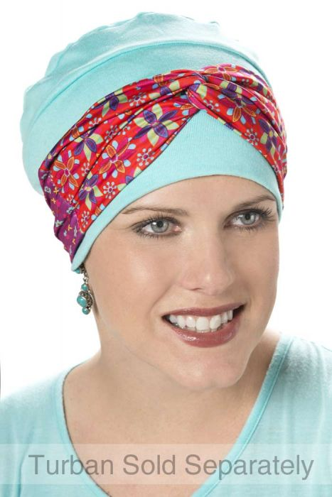Two Way Silky Headband Accessory for Headwear - Add to Hats and Turbans