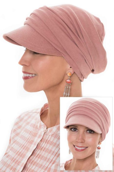Cardani Buttery Soft Slouchy Newsboy Hat in Luxury Cupro Fabric