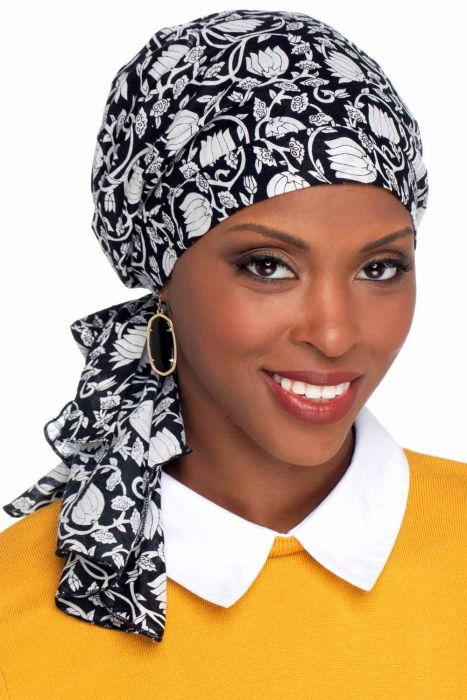 So Simple Scarves™ - Pre-Tied Scarf Head Covering in 100% Cotton Prints
