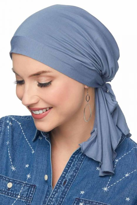 Pre Tied Scarves - So Simple Scarf in Silky Soft Viscose from Bamboo by Cardani