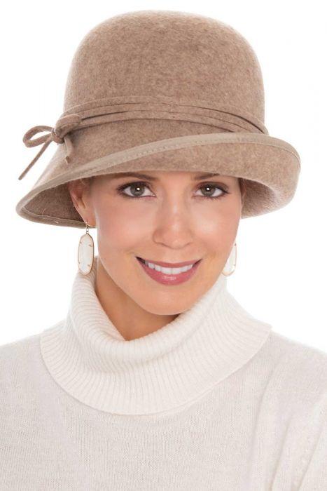 Wool Sophie Cloche   Winter Hats for Women