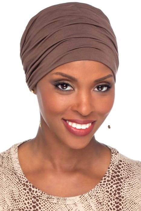 Petite Sophisticate Turban | Viscose from Bamboo for Petite Heads