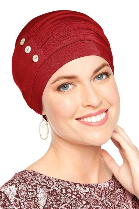 Cardani® Bamboo Synergy Hat | Christmas Red