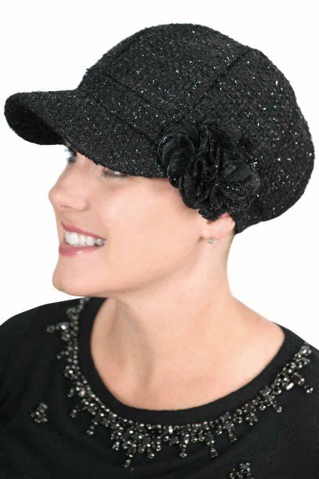 Tinsel Newsboy Hat - Winter Newsboy Caps for Women
