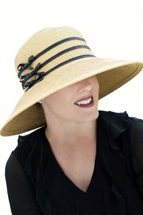 Triple Bow Sun Hat