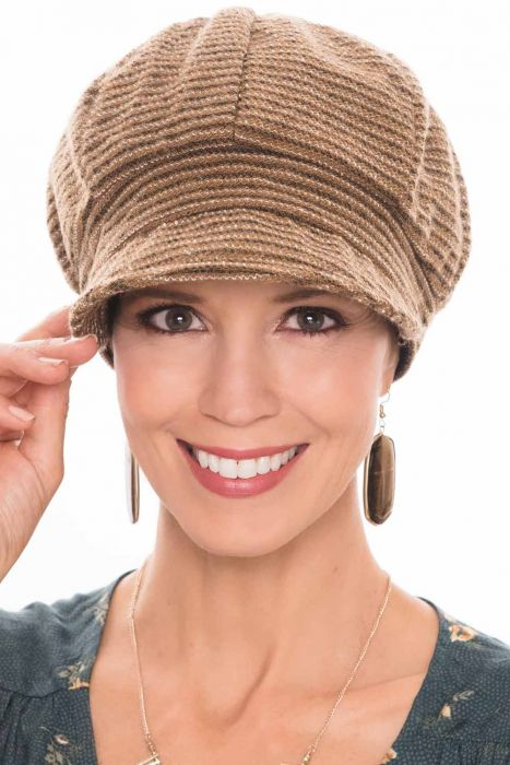 Tweed Talia Newsboy Hat | Fall & Winter Cap for Women