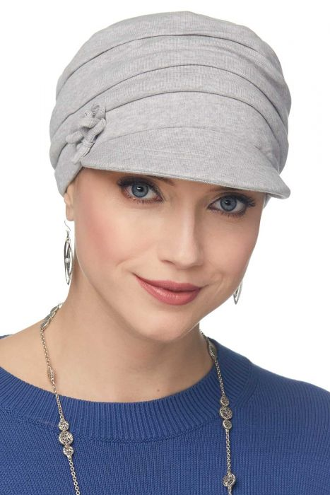 Cardani Two Bow Cadet Hat | 100% Organic Cotton Baseball Cap