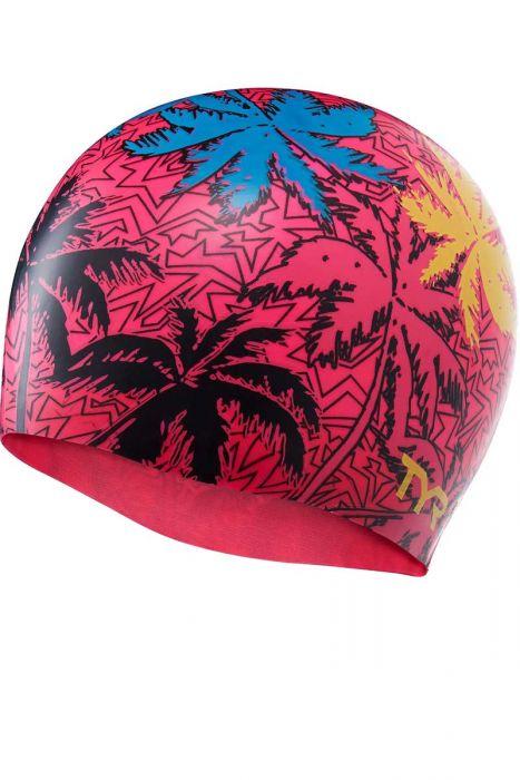 TYR Island Breeze Silicone Swim Cap |