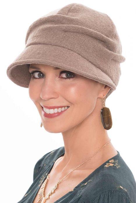 Uma Newsboy Cap | Asymmetrical Fall & Winter Hat for Women