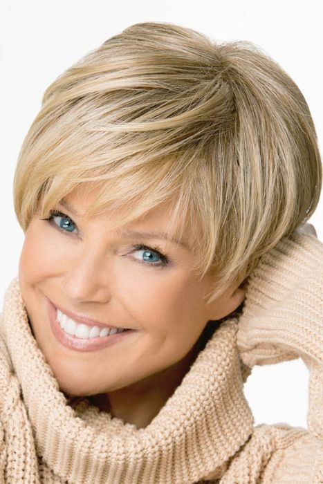 Up Town by Christie Brinkley Wigs - Monofilament Crown Wig