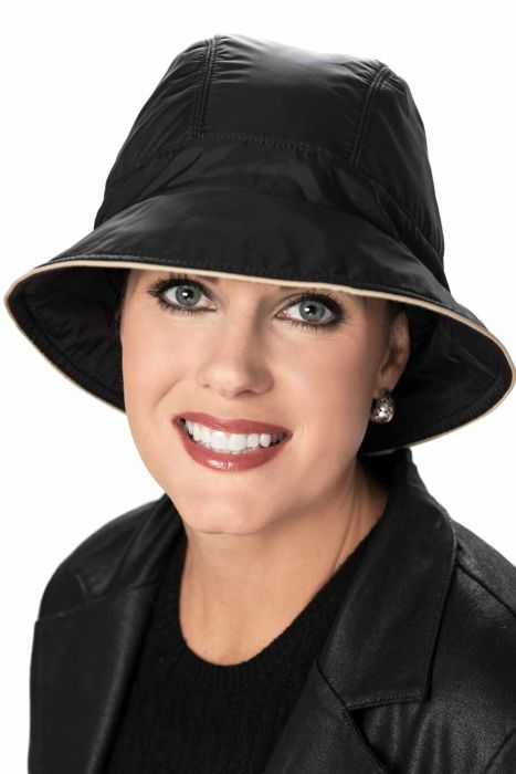 Vancouver Bucket Rain Hat - All Weather Hat for Women