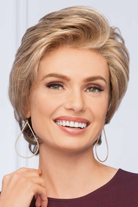 Vantage Point by Eva Gabor Wigs - Monofilament, Lace Front Wig