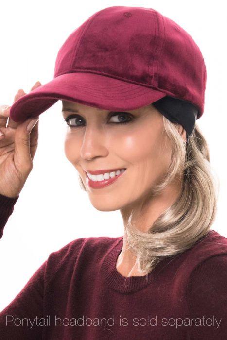 Velour Vanna Baseball Hat | Ball Cap for Fall & Winter