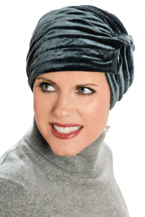 Velour Twist Turban for Women