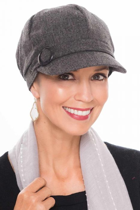 Wool Vivian Newsboy Hat