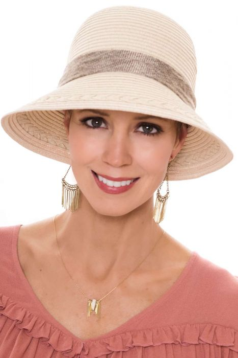 Bondi Burlap Cloche Hat