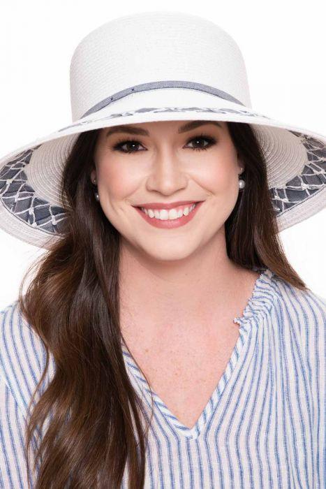 Waverly Denim Braid Sun Hat   Sun Hats for Women  