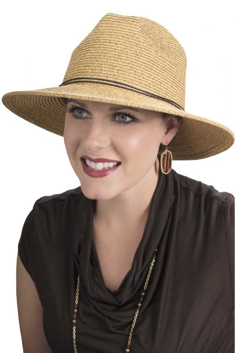 Brimmed Kris Fedora Hat | UPF 50+ Sun Protection Hats