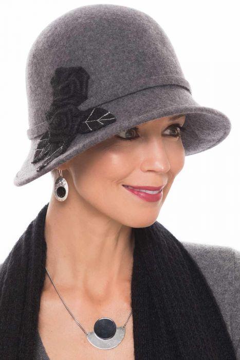 Felt Stella Cloche Hat   Fall & Winter Hats for Women  