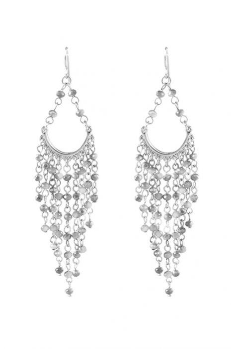 Versailles Beaded Chandelier Earrings   Hypoallergenic & Nickel Free Earrings