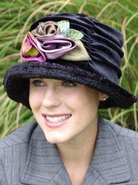 Velvet Brenda Hats