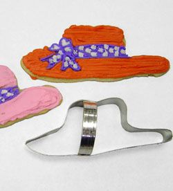 Hat Cookie Cutter - Perfect for Hat Parties or Red Hat Society