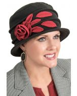 Fleece Angelina Cloche Hat  - Fall and Winter Hats for Women