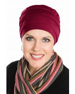Comfort Cap in Bordeaux | Viscose from Bamboo Hat | Luxury Bamboo - Bordeaux