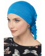 Easy On Pre Tied Head Scarf | Cardani Bamboo Viscose Ready Tie Scarves