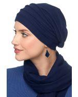 Fleece Chamois Slouchy Cap: Snood Head Covering