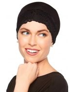 Lace Sleep Cap   Soft Hat Liner   Cardani® Viscose from Bamboo